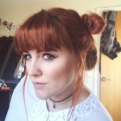 Five 2 Minute Hairstyles For A Full Fringe Bangs Paperblog