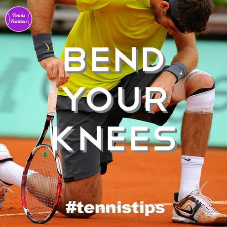 Simple Tennis Tip – Bend Your Knees