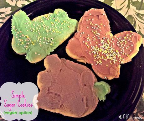Sugar Cookies via @FitfulFocus