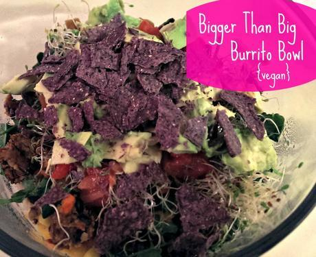 Bigger Than Big Burrito Bowl, gluten free via @FitfulFocus