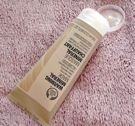 One of A Kind: The Body Shop Warming Mineral Mask Review