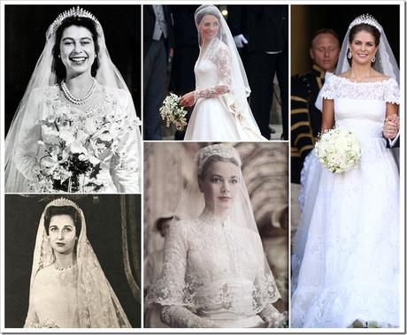 Top Royal Wedding Gowns – I - Paperblog