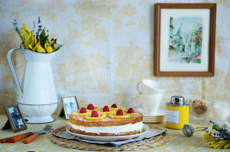 Whole Wheat Lemon Rosemary Cake by With The Grains 001