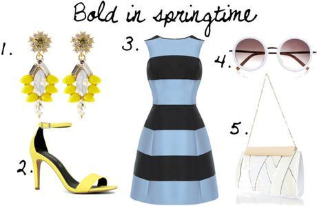 Bold spring colours Wedding Guest