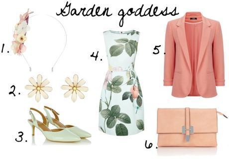 Wedding Guest Garden Goddess