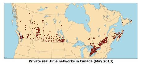 Real Time Networks in Canada