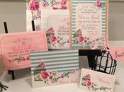 Creative Baby Shower Invitation with Cantoni Font