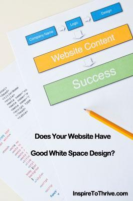white space design