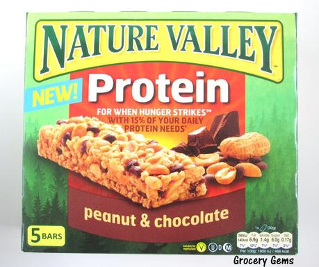 Review: Nature Valley Protein Bars - Peanut & Chocolate