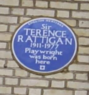 #London Plaque Tiddlywinks No.10: Terence Rattigan