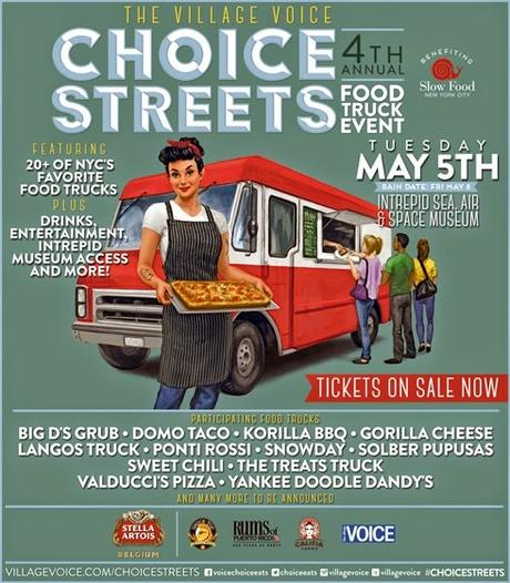 The Village Voice Announces Fourth Annual Choice Streets Food Truck Event