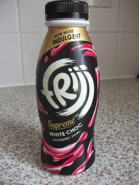 Frijj Supreme White Chocolate Raspberry Swirl