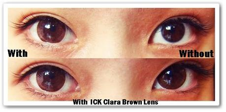 LensVillage ICK Clara Brown Circle Lens Review~