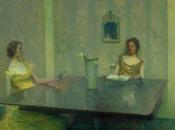 Woman Reading, Listening