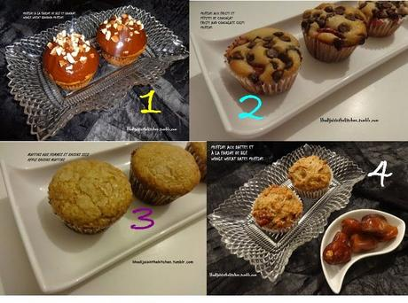 1, 2, 3, 4 MUFFINS  (ARCHIVES)