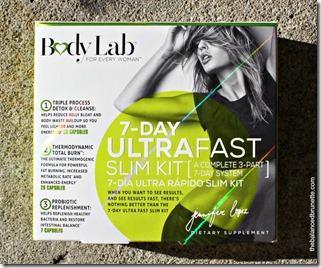 BodyLab Ultra Fast Slim Detox Women Weight Loss