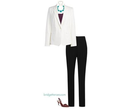 How to Wear a White Blazer to Work