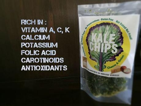Snacking the right way- Kale Chips