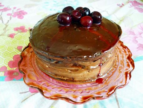 Baking With Spirit: Black Forest Gateau [Low Fat]
