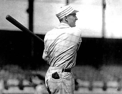 George Kelly in the 1916 New York Giants uniform (baseballhalloffame.org)