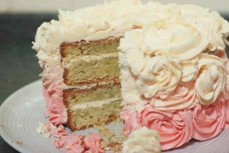 Hello Freckles Blog Birthday Cake Slice