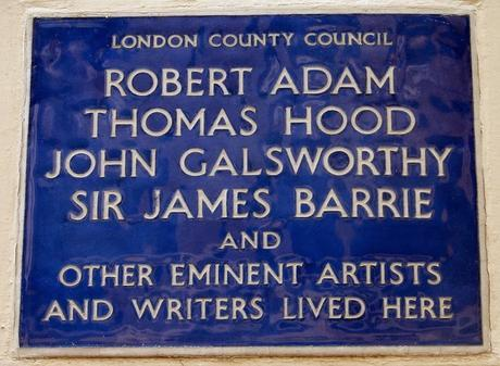 #London Plaque Tiddlywinks No.12: J.M Barrie