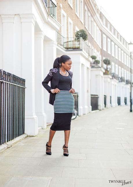 Today I'm Wearing: Midi For Business