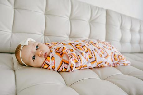 The Benefits of Swaddling, Plus Adorable Swaddle Blankets from Captain SillyPants at Eleventh Avenue!