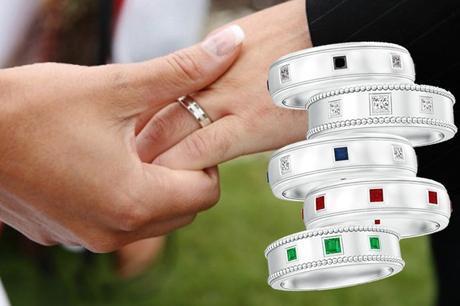 Different type men's wedding bands