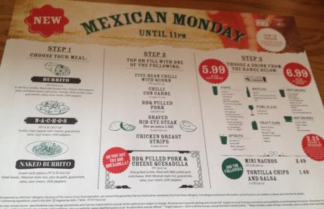 Mexican Mondays - Wetherspoons