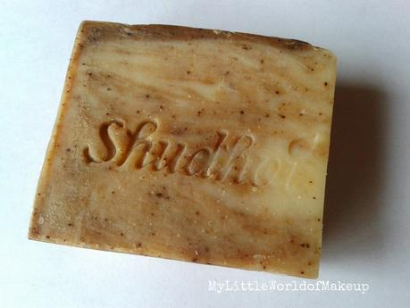 Shudhvi Naturals Coffee Cinnamon Cream Handmade Soap Review