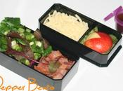 Cheese Bacon Salad Bento Lunch Meal!