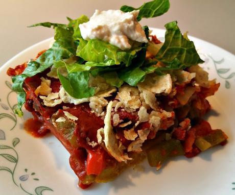 vegan tamale pie