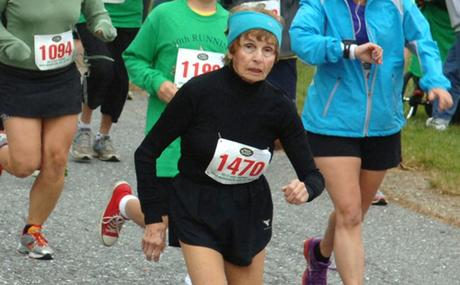 84-Year-Old Holocaust Survivor Says Running Saved Her Life