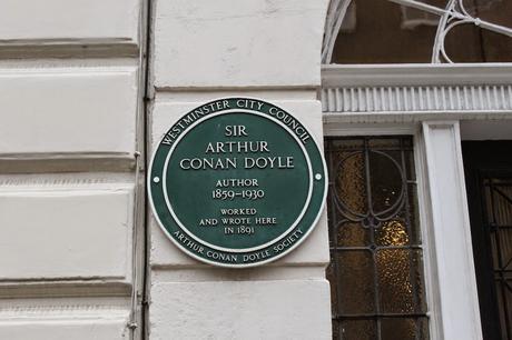 #London Plaque Tiddlywinks No.13: Arthur Conan Doyle