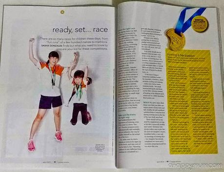 Why we love running {Interview with Young Parents magazine and Safari Zoo Run 2015}