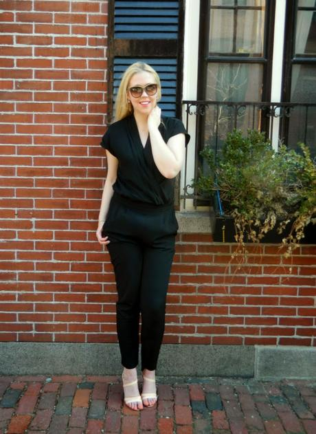Outfits, Spring Outfits, NYDJ, How To Wear A Jumpsuit, NYDJ, Not Your Daughters Jeans, RocksBox, Perry Street Lily Earrings, Gorjana Taner Ball Necklace, Margaret Elizabeth Fishtail Link Bracelet, Rebecca Minkoff Clutch