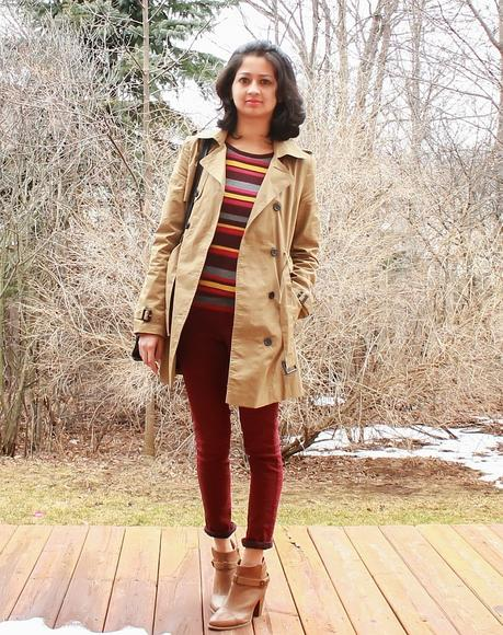 What I Wore: Trench coat
