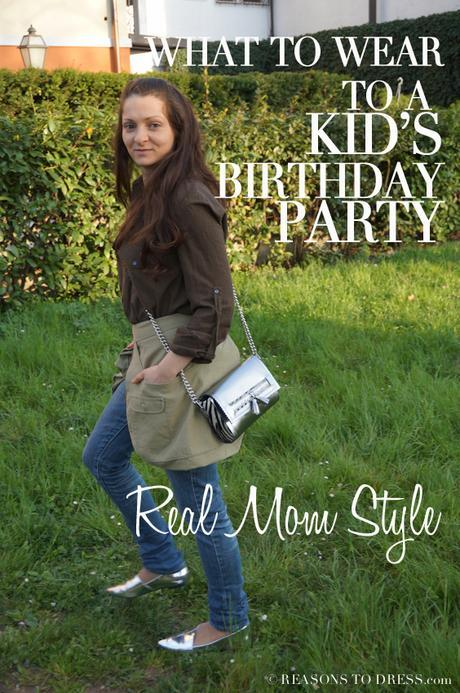 real dad style, dad style, mom style, real mom style, italian style, italian mom style, what to wear to a birthday party, what to wear to a toddler's birthday party, what to wear to a child's birthday party, what to wear to a kid's birthday party, how to dress for a kid's birthday party, looking good without dressing up, casual friday style, everyday style, real mom street style