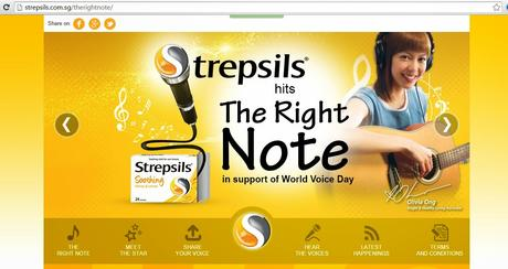 Strepsils celebrates World Voice Day withThe Right Note Singing Competition