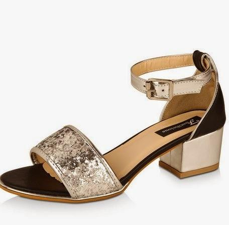 Seeing Glitters on My Feet - 3 Glitter Sandals That Steal Hearts