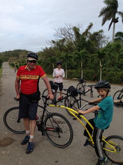 Cycling Through Cuba with Richard Bangs