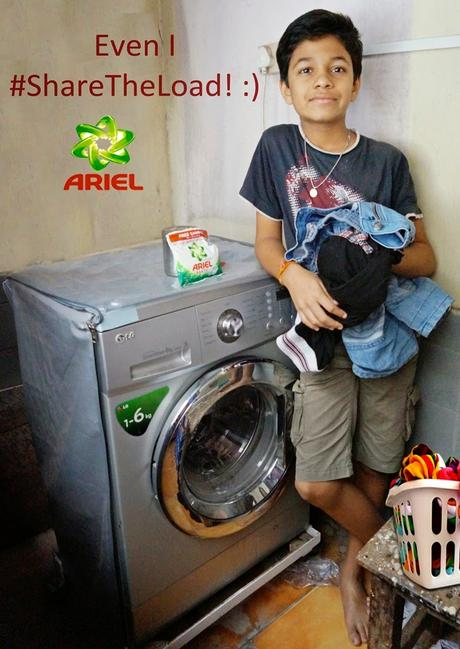Ariel Matic #WashBucketChallenge
