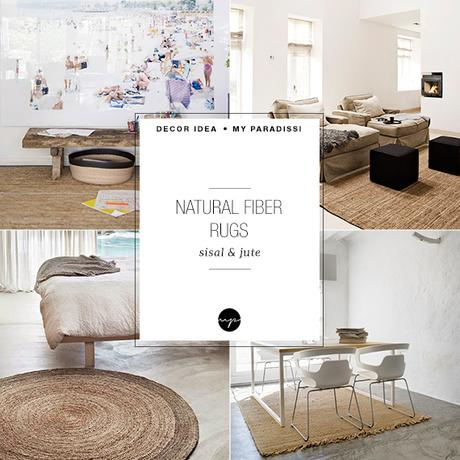 Decor trend sisal and jute rugs paperblog for Sisal decoration