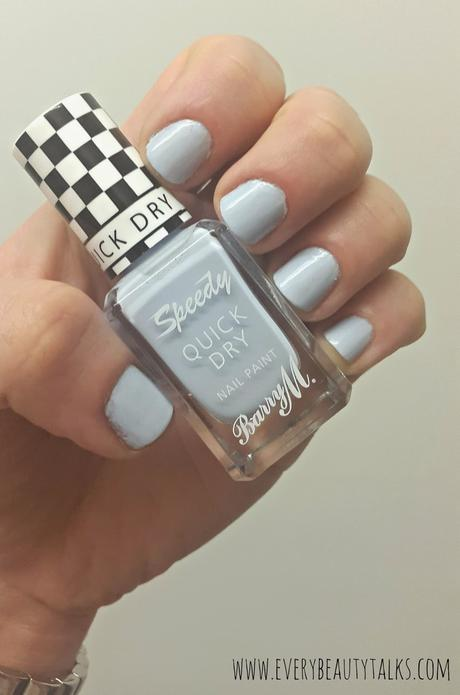 Barry M Speedy Nail Paint in 'Eat My Dust'