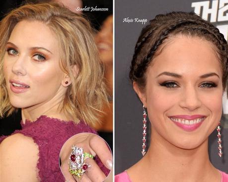 Hollywood-Celebrity-Garnet-Jewelry