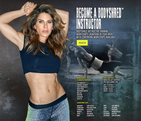 Jillian Michaels BODYSHRED via @FitfulFocus