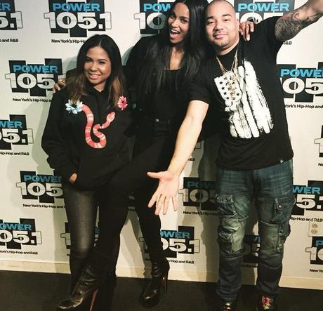 Ciara Stops By The Breakfast Club