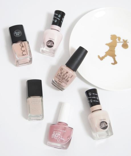 nude neutral nail polish shades