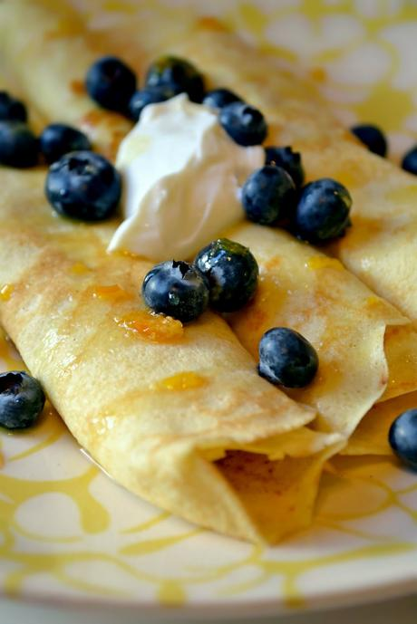 Recipe: Low-Fat Crepes for One